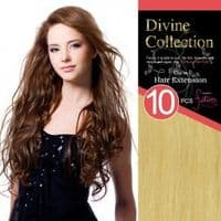 Clip in Hair Extensions - 10pcs set  Tongable Synthetic  Hair - 22 inches